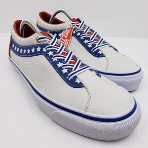 Vans Off The Wall Mens Size 10.5 Patriotic Shoes